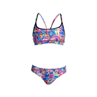 Funkita Sports Two Piece Club Tropo - LadiesRapid Swimshop