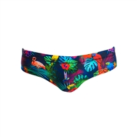 Funky Trunks Classic Brief Tropic Team - Mens Rapid Swimshop