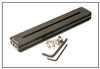 8.00 Inch Long 5/8 Thick Rail (One Slot & Holes on Each End)