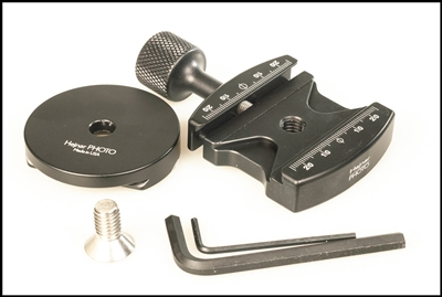 2.375 Jaws Length Clamp with Dovetail Adapter