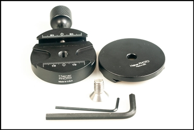 2.625 diameter Round Clamp with Dovetail Adapter