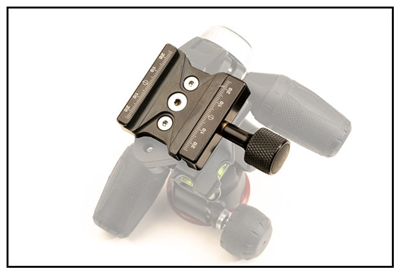Plate With  Black Knob F62b Clamp for MHXPRO-3W  Head