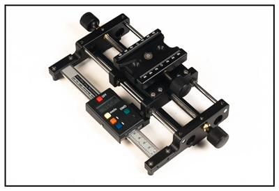 Screw  Adjusting Macro Rail with Digital Scale