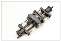Screw  Adjusting Macro Rail 8 inch