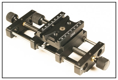 Screw  Adjusting Macro Rail - 8 inch