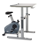 LifeSpan CS-DT5 Upright Exercise Bike & Desk