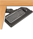 ESI Dual Swivel Cut Corner Keyboard Arm & Platform
