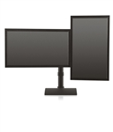 Innovative Horizontal Dual Flat Panel Monitor Stand