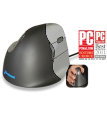 Evoluent Vertical Mouse, Wired, Right & Left Hand