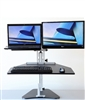 Hybrid Kangaroo Sit Stand Workstation