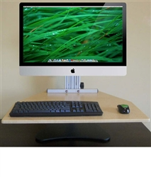 MyMac Kangaroo Pro Sit Stand Workstation for iMacs