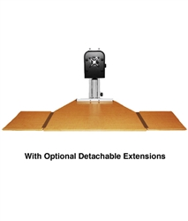 Ergo Desktop Worksurface Extensions, set of 2