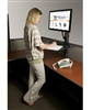 Health Postures Taskmate EZ Sit Stand Workstation