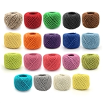 Crafty Hemp Jute Twine String - 2mm, 75 yards - 18 colors