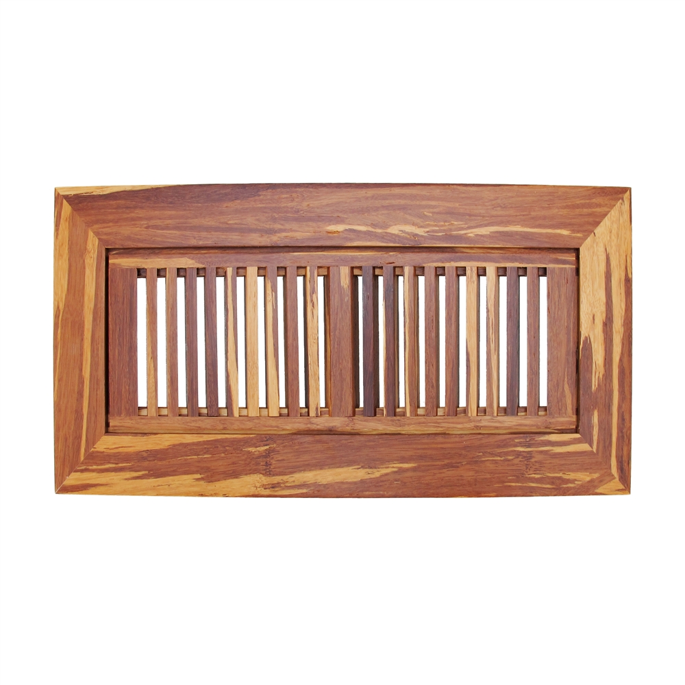 Strand woven bamboo floor register vent cover x 14 for 10 x 14 floor register