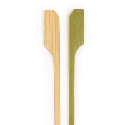 Premium Bamboo Paddle Long Short Picks and Skewers, Party Supplies