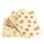 "Flower Print Bamboo Placemats - 12"" X 17.5"""