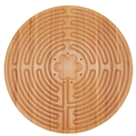 Finger Labyrinth for Meditation and Prayer - 11 Circuit Chartres Style - BambooMN