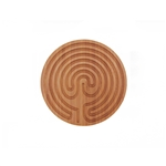 "Finger Labyrinth for Meditation and Prayer - 6"" Cretan Style - BambooMN"