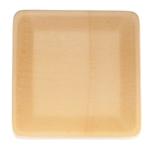 Disposable Bamboo Veneer Plate - Square
