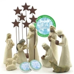 Willow Tree 10 Piece Starter Nativity Set By Susan Lordi