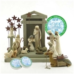 Willow Tree 17 Piece Nativity Set By Susan Lordi