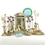 Willow Tree 23 Piece Nativity Set ( Includes Peace on Earth)