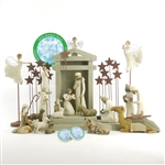 Willow Tree 23 Piece Nativity Set ( Includes A Tree A Prayer)