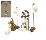 Maven Gifts: Willow Tree - Starry Night Nativity Figurine Set - 10 Piece Collection