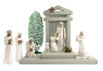 Maven Gifts: Willow Tree - Nativity Scene w/ Three Wiseman, Tree Silhouette & Creche by Susan Lordy