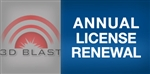 3D BLAST Annual License Renewal