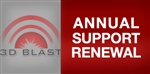 3D BLAST Annual Support Renewal