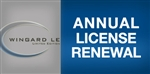 WINGARD LE Annual License Support Renewal