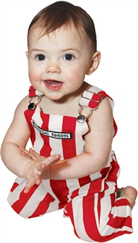 Game Bibs (Infant): Red and White