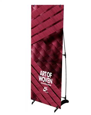 how to assemble banner stand