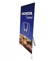 "Medium  X Banner Stand 32"" x 72"" - Stand Only"