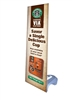 "Outdoor X Banner Stand Water Base with 24""x 69"" Vinyl Print"