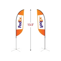 Medium Feather Flag Kit