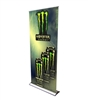 "HD Retractable Banner Stand 36"" with Vinyl Print"