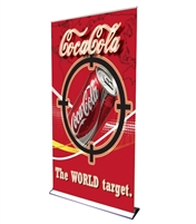 "HD Retractable Banner Stand 48"" with Vinyl Print"