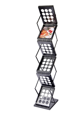 Pop-Up Literature Rack