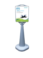 Outdoor Cone Poster Sign (Water Filled Base) - Poster Sign Only