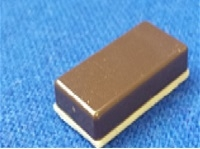 "Quick Switch QSRES8 Brown Tile Magnet 1"" Long x 1/2"" Wide x 1/4"" Thick"