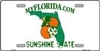 Florida Blank License Plate Vinyl Cricut Pazzles