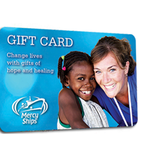 Mercy Ships Gift Card