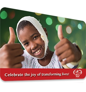 Mercy Ships Electronic Gift Card