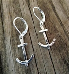 Anchor Charm Earrings