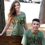 Fatigue Green Crew T-Shirt - Mercy Camouflage