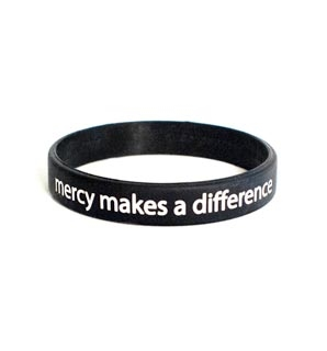 Wristband - mercy makes a difference