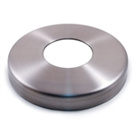 "Stainless Steel Flange Canopy 3 15/64"" Dia. x 1 39/64"" Dia. Hole x 19/32"""